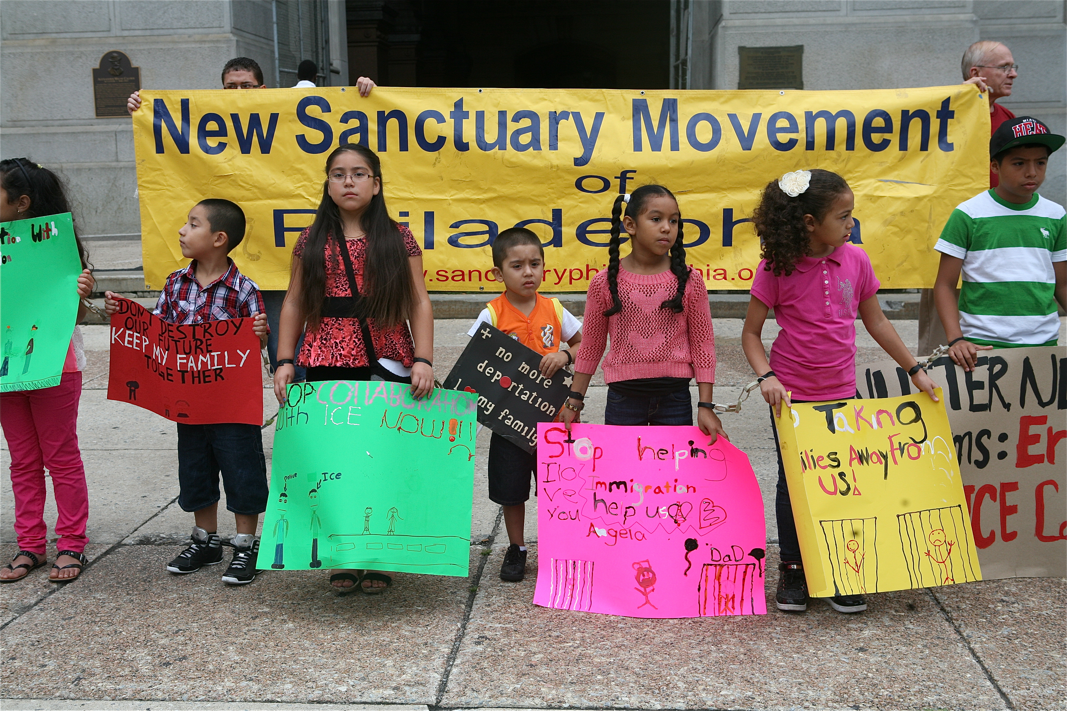 Kids Day of Action Against Deportation